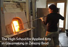 High School for Applied Arts in Glassmaking in Železný Brod