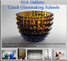 IGA Gallery for Czech Glassmaking Schools